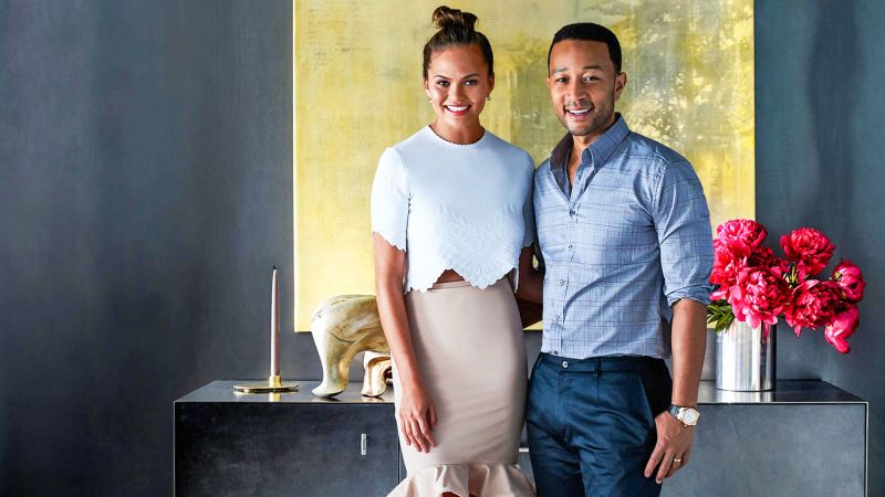 watch cover shoots john legend and chrissy teigen welcome you into