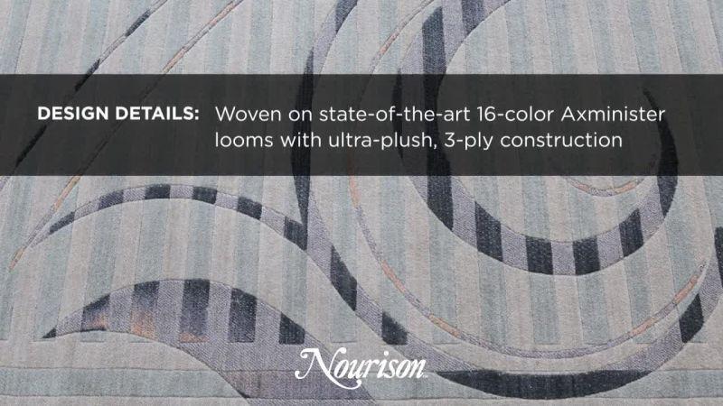 Watch ADVERTISEMENT: Nourison Carpet At The Architectural Digest Home Design  Show | Architectural Digest Video | CNE