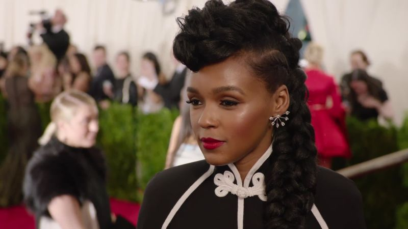 Watch Met Gala Janelle Mon 225 E At The Met Gala 2015