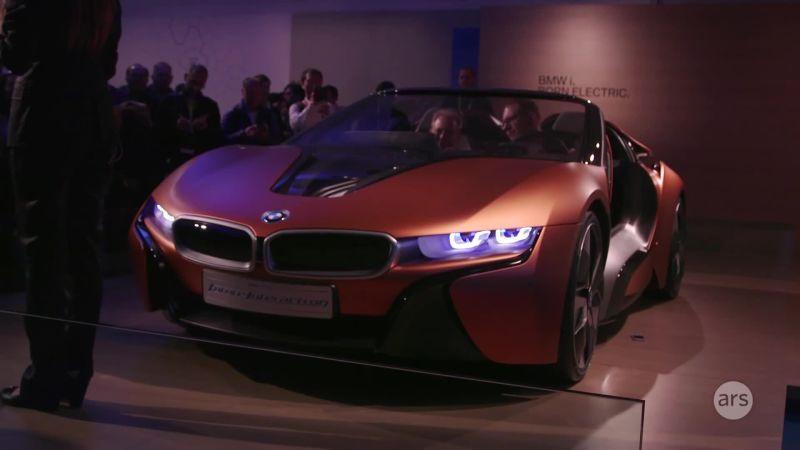 Watch Cars CES BMWs I Concept Autonomous Vehicle Ars - 2016 bmw cars