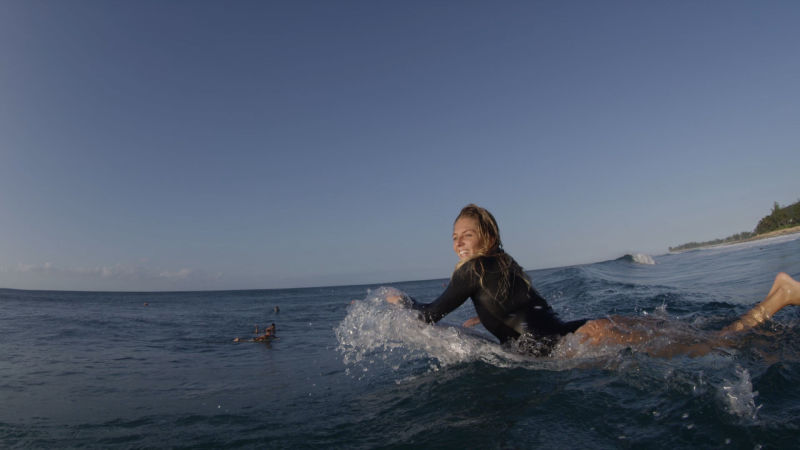 Watch Vogue Beauty Learn To Surf With World Champion