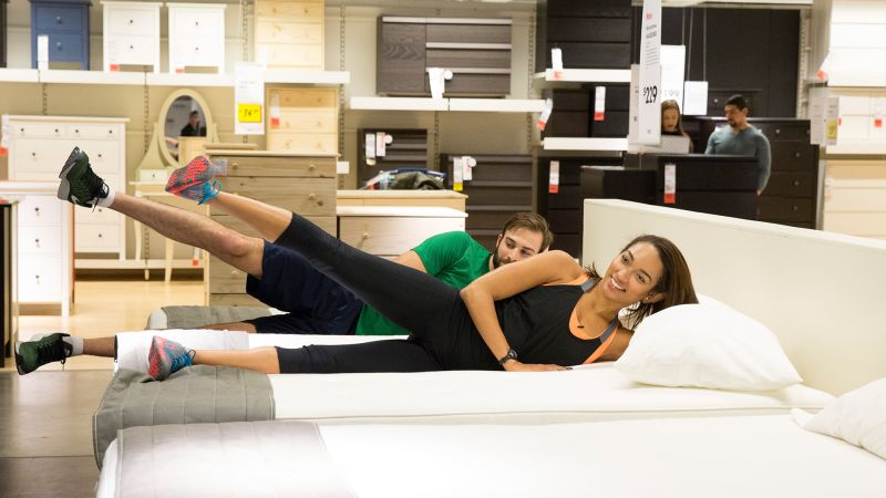 watch how to do pilates at home and by home we mean ikea