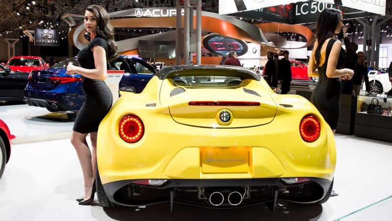 Watch Sexiest Car Rears From The New York International Auto Show - International car show