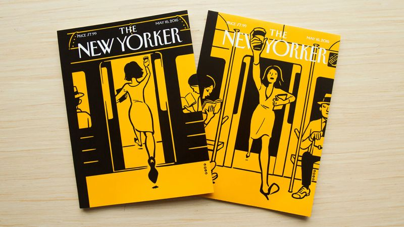 Watch Christoph Niemann S Augmented Reality Covers The New Yorker Video Cne