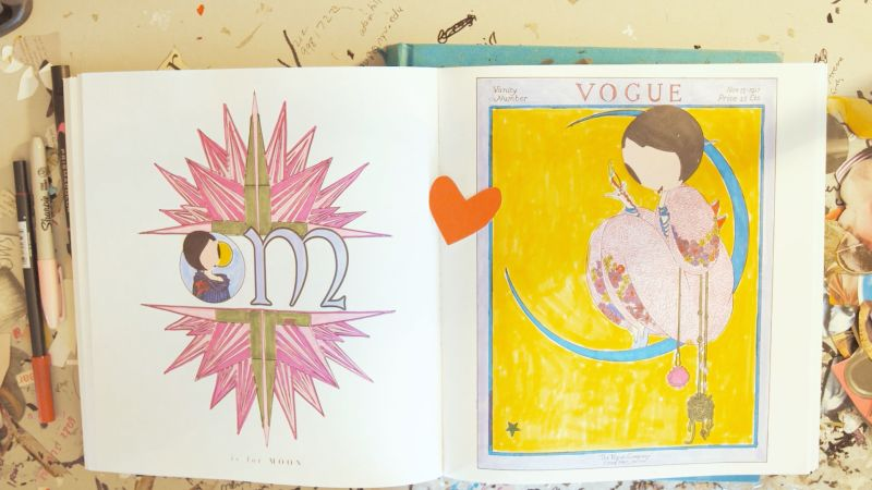 Watch Watch Phoebe New York Play With The Vogue Coloring