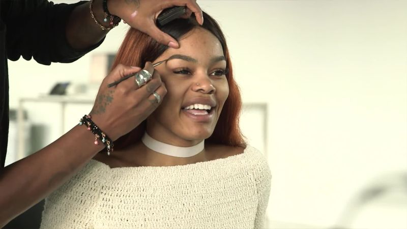 Watch Teyana Taylor's No-Makeup Interview About the Influence of 'Auntie Beyonce'   Allure Video   CNE