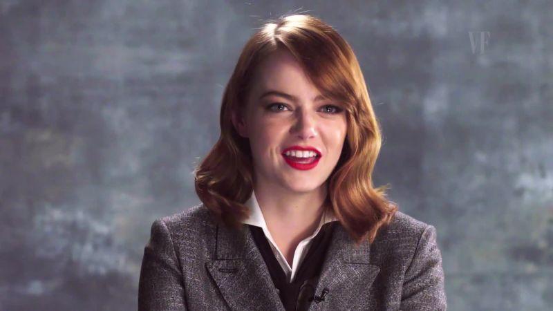Superior Watch The Hollywood Issue | Emma Stone Talks Ryan Goslingu0027s Twizzlers  Obsession | Vanity Fair Video | CNE
