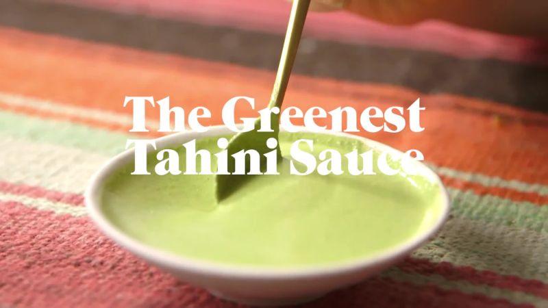 recipe: greenest tahini sauce [12]