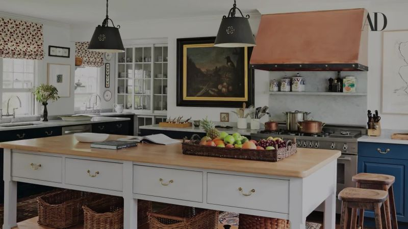 Watch 13 alluring modern farmhouse kitchens - Cuisine moderne images architectural digest ...