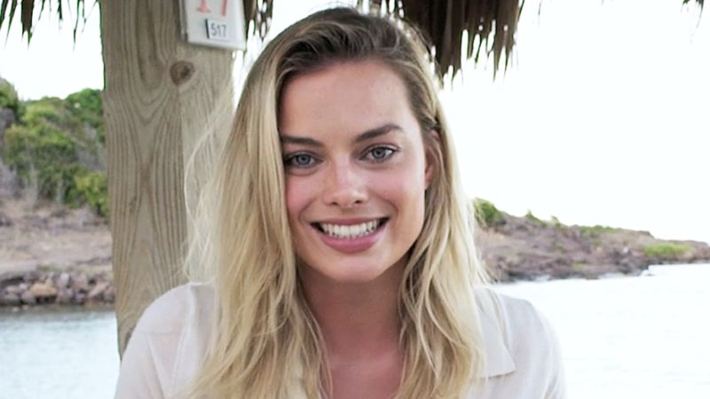 Watch Margot Robbie Reads Inspirational Quotes