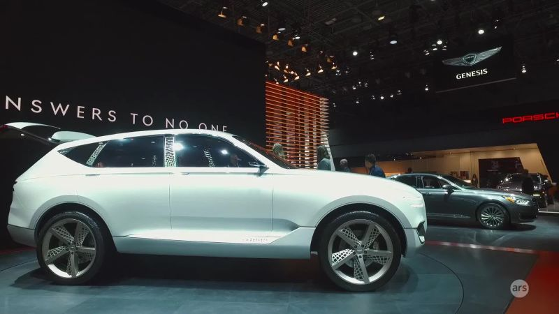 Watch Cars Nyias Genesis Concept Fuel Cell Suv Ars