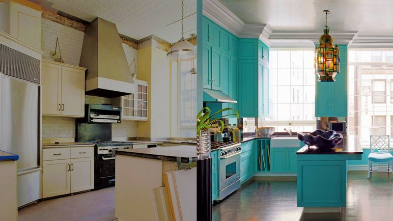 Watch Before And After Photos Of 6 Sensational Kitchen