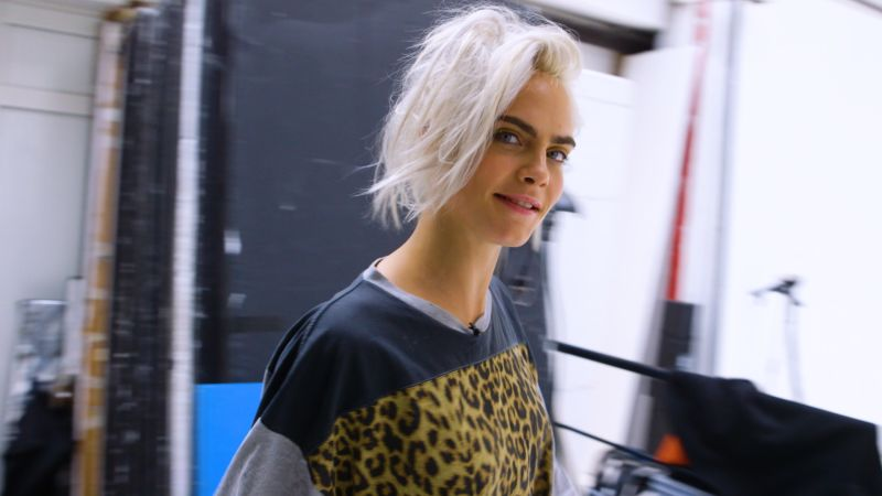 watch glamour cover shoots cara delevingne 8 looks 1