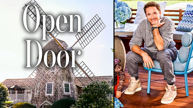 watch a hilarious tour of robert downey jrs hamptons home architectural digest video cne - Tour Of The Hamptons