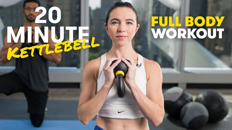 20-Minute Full-Body Kettlebell Workout