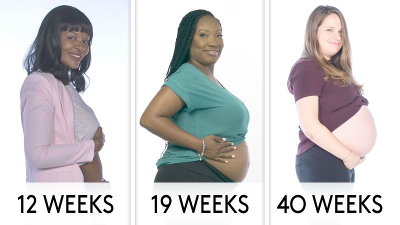 Watch Pregnant Women Weeks 7 to 40: What's the Best Part ...