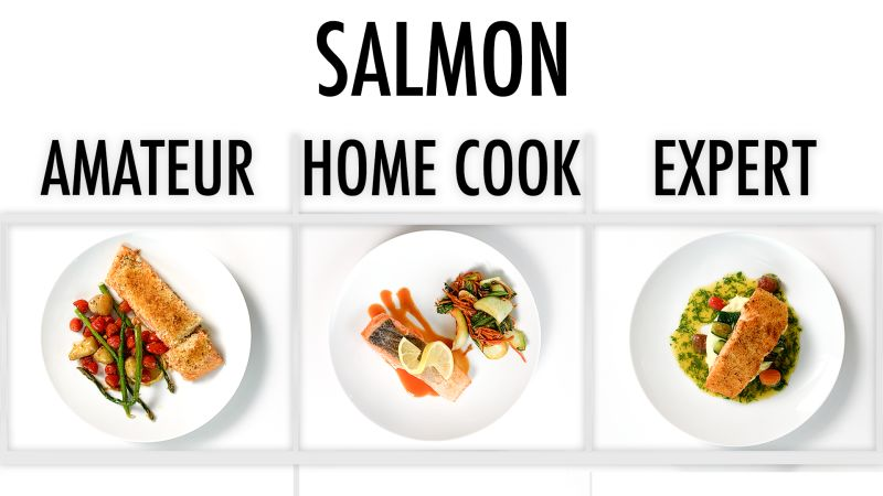 4 Levels of Salmon: Amateur to Food Scientist