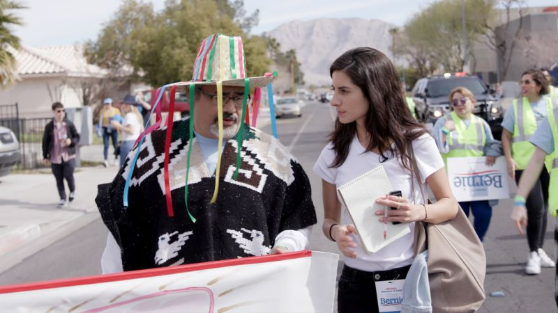 How Bernie Sanders's Outreach into Latino Neighborhoods Is Working