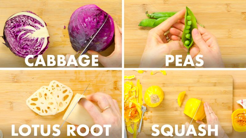 How To Chop Every Vegetable