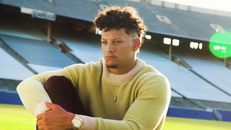 Inside GQ's August Cover Shoot with Patrick Mahomes