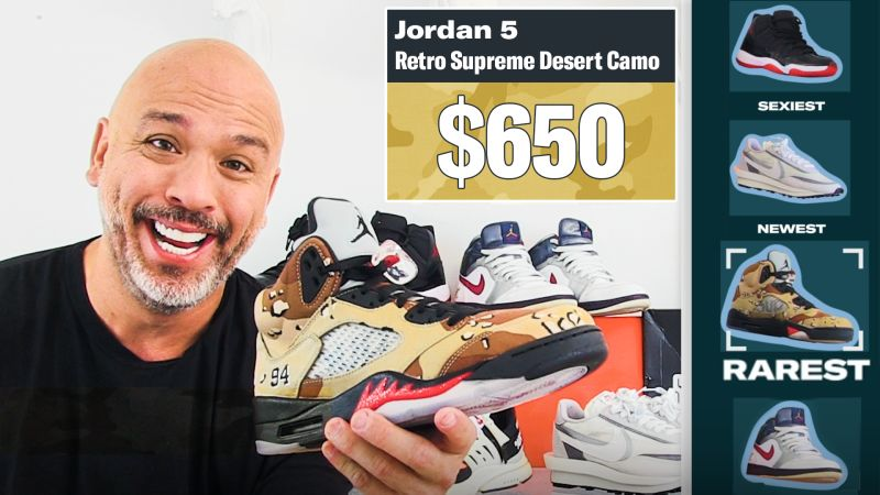 Jo Koy Shows Off His Favorite Sneakers, From Rarest to Oldest