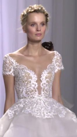 Watch bridal fashion reem acra walks us through her fall 2017 watch bridal fashion reem acra walks us through her fall 2017 wedding dresses brides video cne junglespirit Gallery