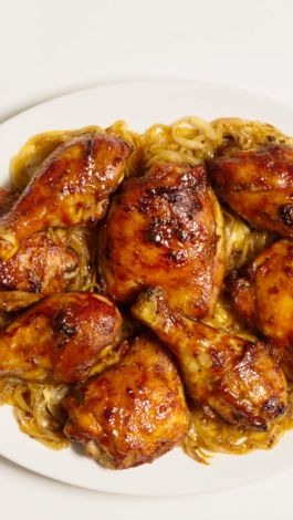 Watch Basically Oven Barbecued Chicken Bon Apptit Video Cne