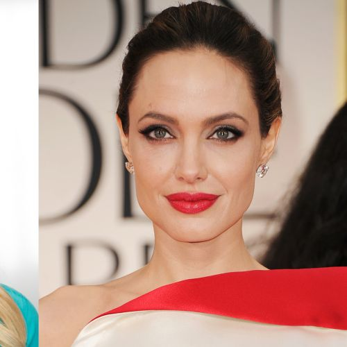 Angelina Jolie Cat Eye Look