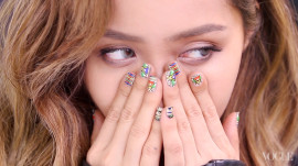 Michelle Phan Re-creates Cara Delevingne's Beauty Look