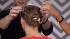 How to Create an Easy Braided Updo