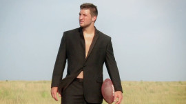 Behind the Scenes of Jets Quarterback Tim Tebow's Shoot for the October Issue
