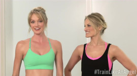Lindsay Ellingson's Yoga Flow Sequence