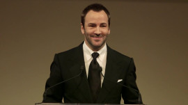 Tom Ford's Inspiring Advice to Designers at the Fashion Fund Awards Ceremony