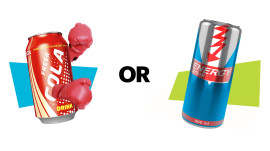 Soda vs. Energy Drink