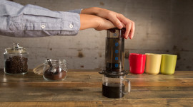A Look at the Aerobie AeroPress Coffee-maker
