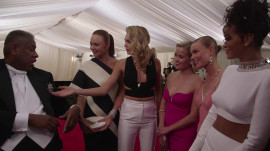 Rihanna, Cara Delevingne, Reese Witherspoon, Stella McCartney, and Kate Bosworth at the 2014 Met Gala