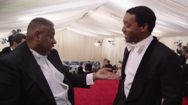 Chiwetel Ejiofor at the 2014 Met Gala