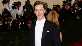 Benedict Cumberbatch at the 2014 Met Gala