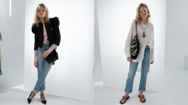 Two Ways to Style the Mom Jean Trend