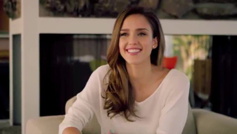 Jessica Alba's SELF Cover Shoot