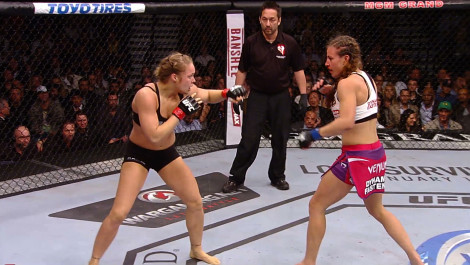 Ronda Rousey's Arm Bar