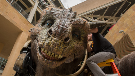 Watch the Giant Creature Marry a Couple & More Highlights from San Diego Comic-Con 2014