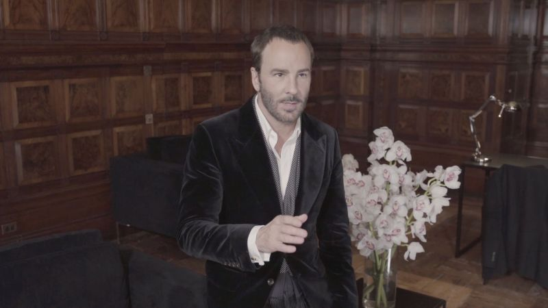 """I Like Beautiful, Classic Clothes, So That's What I Do""—Tom Ford Sounds Off on His Fall 2019 Collection"
