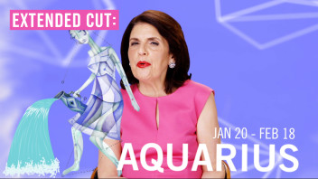 Extended Cut: Glamourscopes with Susan Miller - Aquarius Full Horoscope for 2015