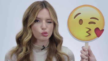 Bella Thorne Makes A Better Winky Face Than You