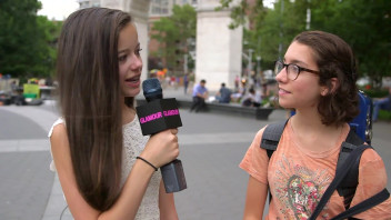 Glamour's Junior Political Correspondent Asks New Yorkers About the 2016 Presidential Election