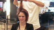 Coco Rocha Cuts It All Off