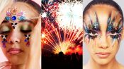 3 Makeup Artists Turn a Model Into a Living Firework