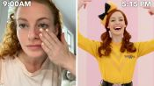 The Wiggles' Emma Watkins' Entire Routine, from Waking Up to Showtime