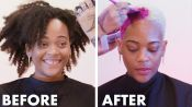 Getting My Head Shaved For the First Time (The Big Chop) | I've Never Tried